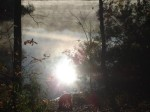 Early morning at the reservoir at Tishomingo State Park in Mississippi